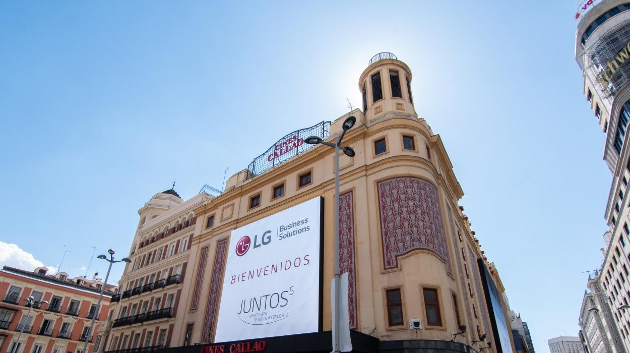 Juntos 5: El evento más importante del año de LG Business Solutions llega a Cines Callao
