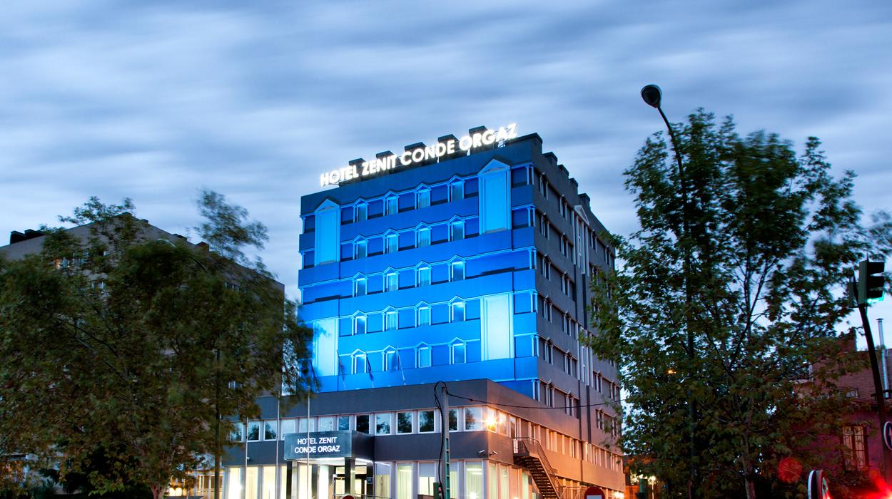 La climatización del Hotel Zenit de Madrid