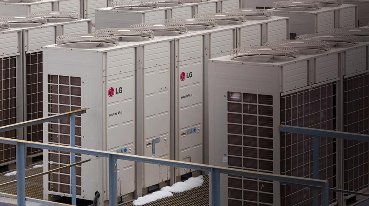 El edificio Príncipe de Vergara 11, instala las soluciones de climatización de LG