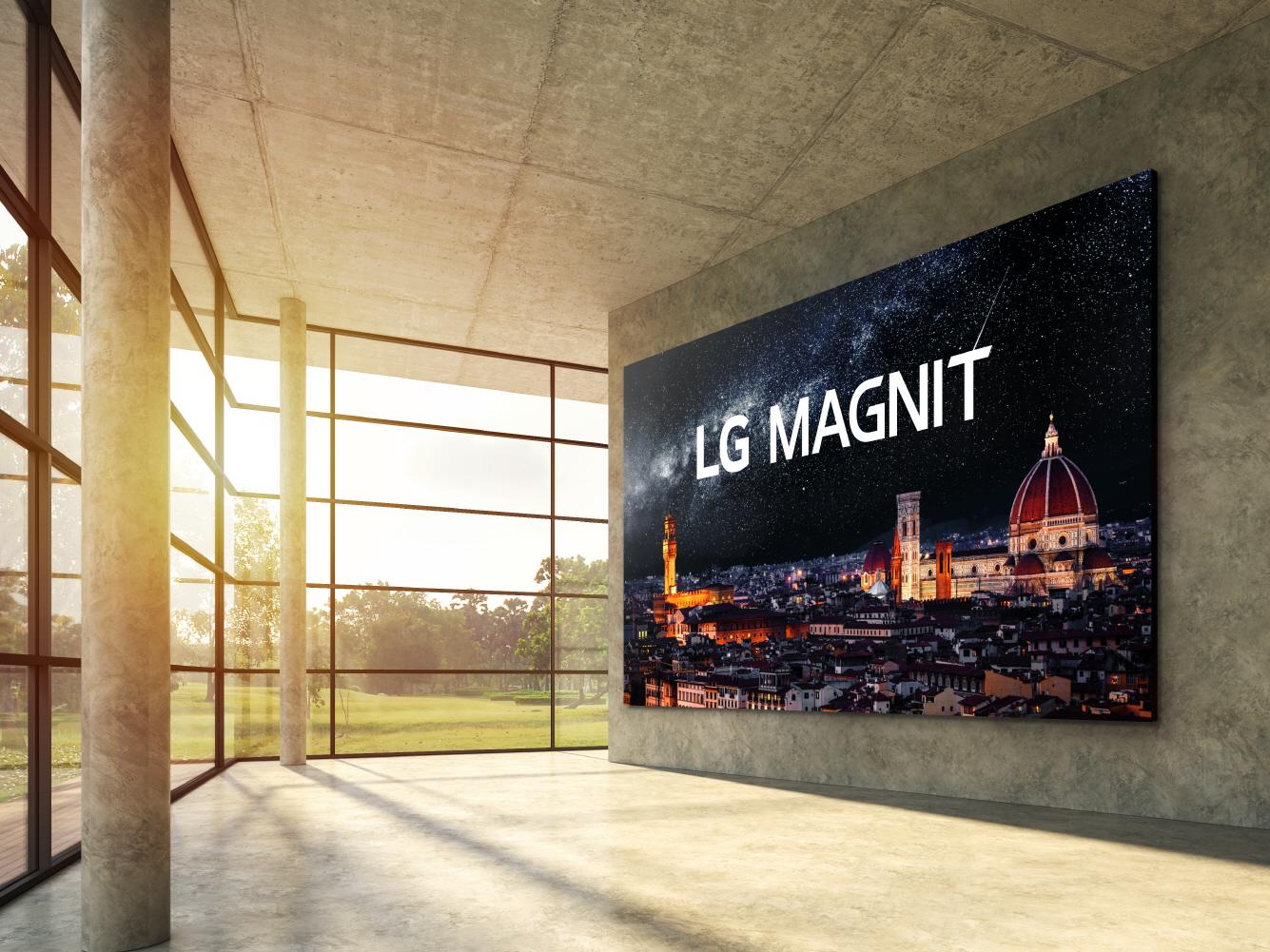 LG presenta su primera pantalla Micro LED, una solución sin igual en entornos comerciales