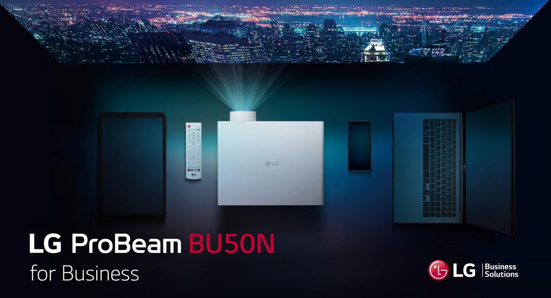 LG PROBEAM BU50N 4K: La mejor tecnología de proyección